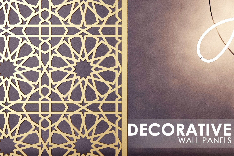 Islamic Pattern Wall Panel High Quality 3d Furniture