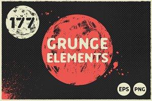 177 Grunge Elements