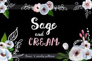Sage and Cream