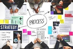 Business people in meeting