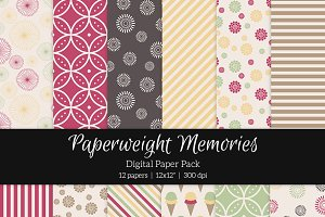 Patterned Paper - Make Me Happy