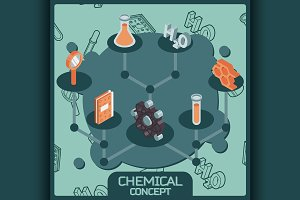 Chemical color icons