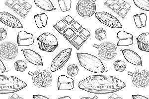 Chocolate Vector pattern