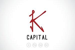 Letter K Logo Template