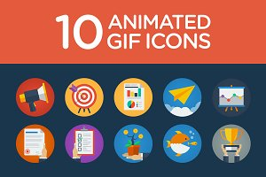 Flat Animated Icons