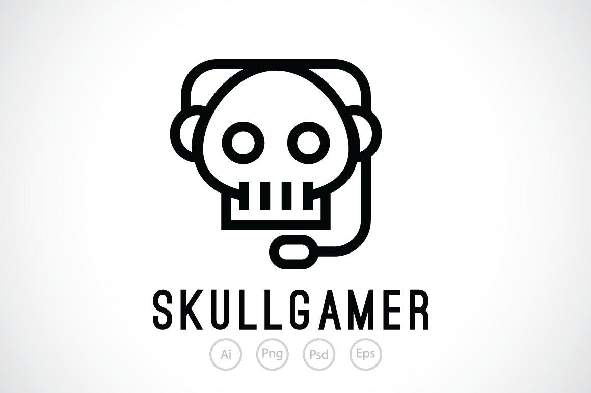 Skull Gamer Logo Template ~ Logo Templates ~ Creative Market