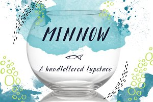 Minnow Handlettered Typeface