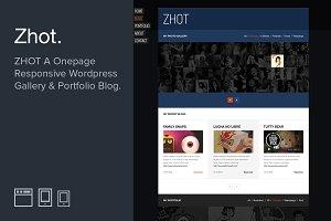 ZHOT Responsive Wordpress Portfolio