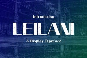 Leilani Typeface