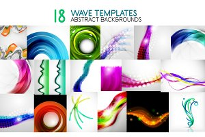 Collection of vector wave templates