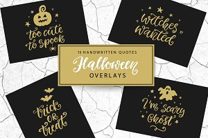Halloween Overlay Quotes