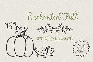 Enchanted Fall Elements