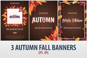 Autumn Fall Banners