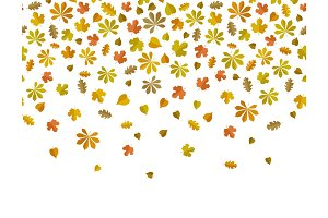 Leaf fall background