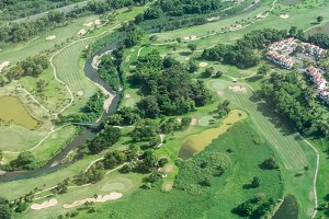 Air Photography of Golf Course