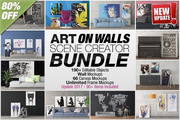 Download Art On Walls Scene Creator Bundle