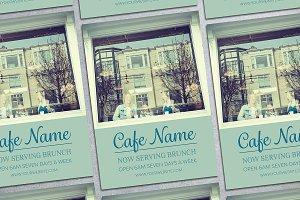 Cafe House Flyer Mockup