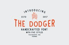 The Dodger + Extras (11 Fonts !)