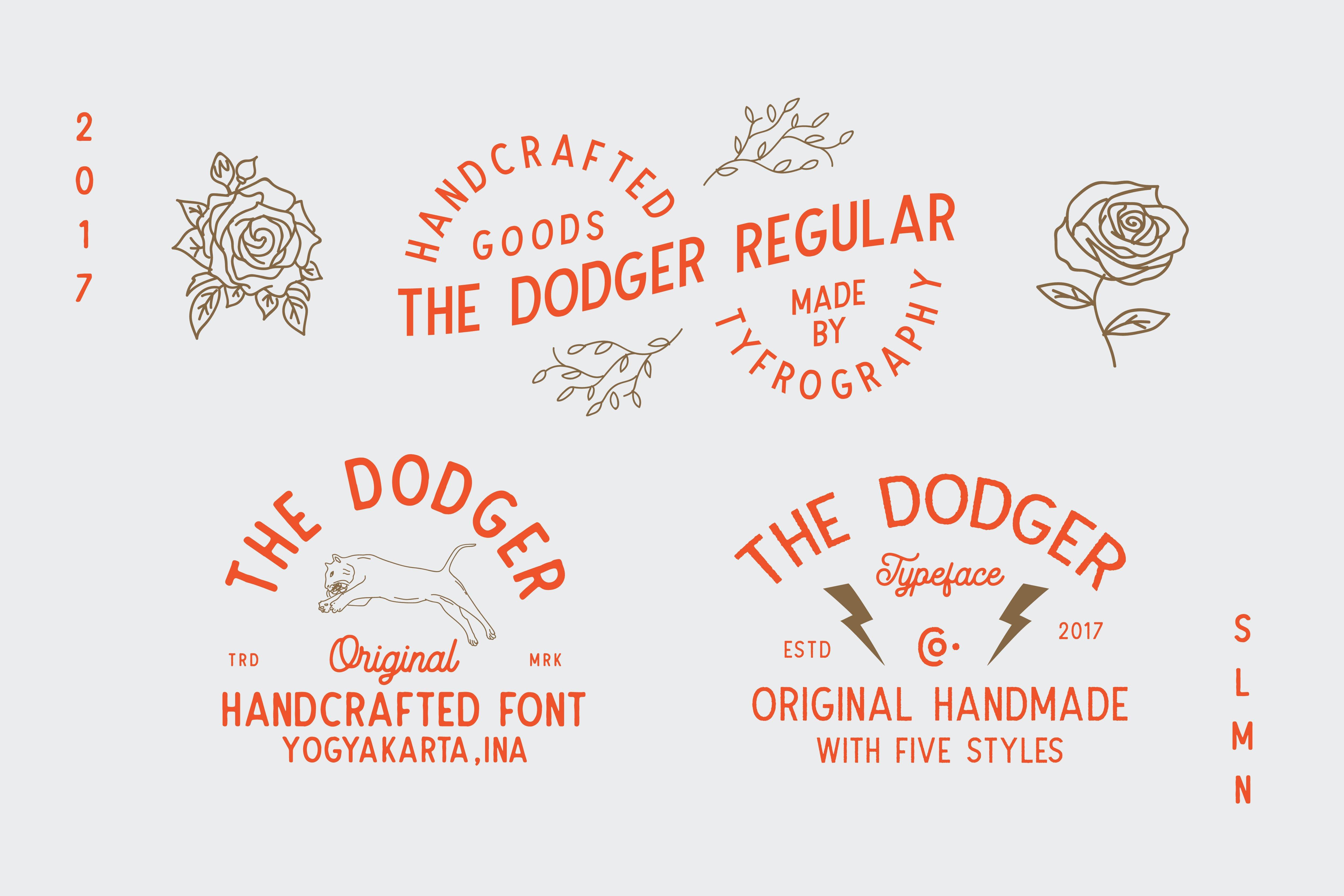 The-Dodger-11-Fonts-www.mockuphill.com