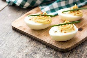 Classic stuffed eggs