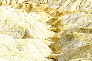 Desert Bardenas Reales in Navarre