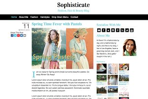 Sophisticate WordPress Theme