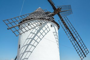 Typical spanish windmill