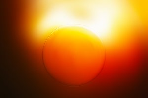 Glowing sun disc llustration background