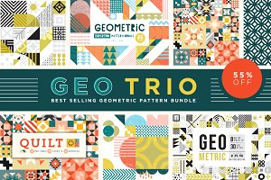 Geo Trio Pattern Bundle