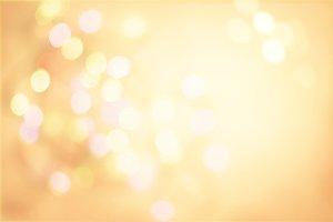 Gold Pastel Vintage Background with Defocused Spots Light boke