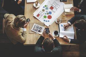 People Meeting Brainstorming
