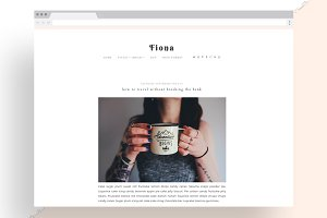 50%OFF! Fiona - Responsive WordPress