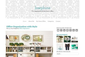 The Josephine WordPress Theme