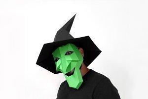 DIY Halloween Witch - 3d papercraft