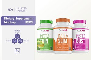 Dietary Supplement Mockup v. 1B