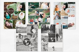 Collage & Blog Board Multipack vol.1