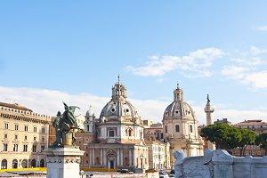 The city of Rome, Italy
