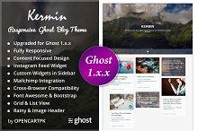Kermin - Responsive Ghost Blog Theme