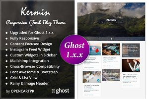 Kermin - Responsive Ghost Blog Theme