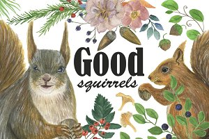 Good squirrels