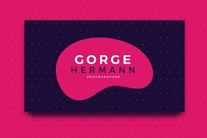 Gorge Hermann Business Card Template