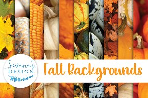 Fall Autumn Background Digital Paper