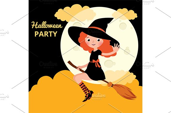 Little red haired witch