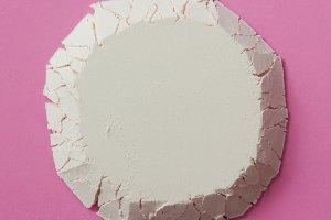 circle made of flour
