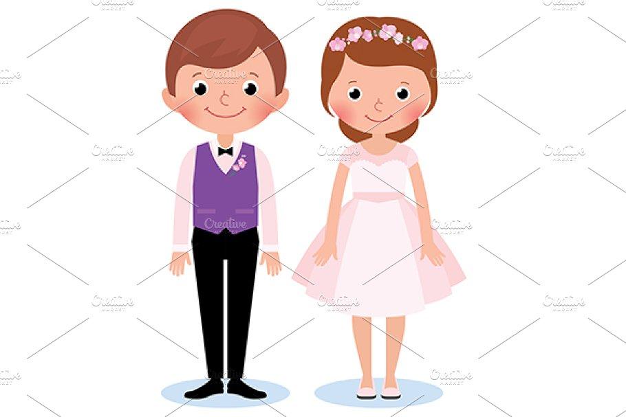 Happy couple newlywed