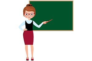 Woman teacher