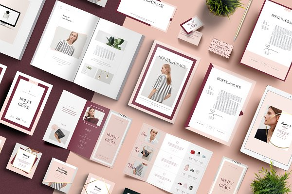 Stationery Templates: Studio Standard - FITZROVIA Brand Pack