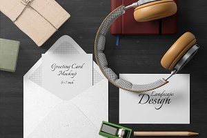 5x7 Greeting Card Mockup Pack - 2