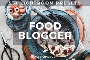 55+ Food Blogger Lightroom Presets