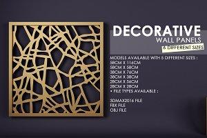 Decorative Panel-Screen 3D Model